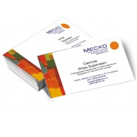 Визитные карточки, односторонние 4+0 (комплект 100шт.)